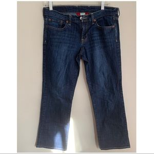 Lucky Brand capris blue jeans size 4/27